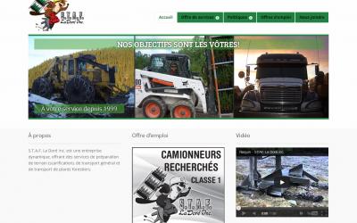 Site web STAF La Doré
