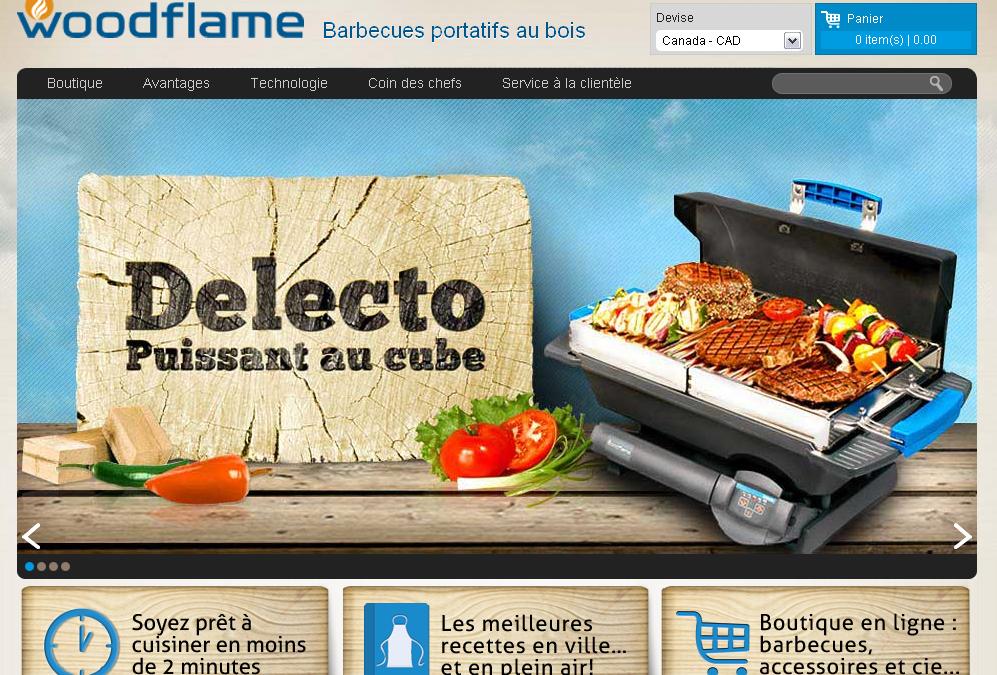 Site web de Woodflame